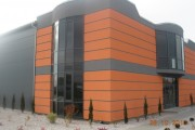 Aluminium or glass facades are being frequently applied in public buildings, such as commercial sites, hospitals, offices and schools, because those buildings do require facades which are durable, functional and, often, unique.