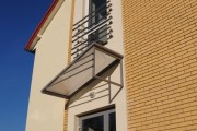 Along with windows, doors, winter gardens and facades, we manufacture a wide variety of structures made of aluminium profiles.
